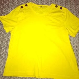 Price dropped final: Zara yellow top.